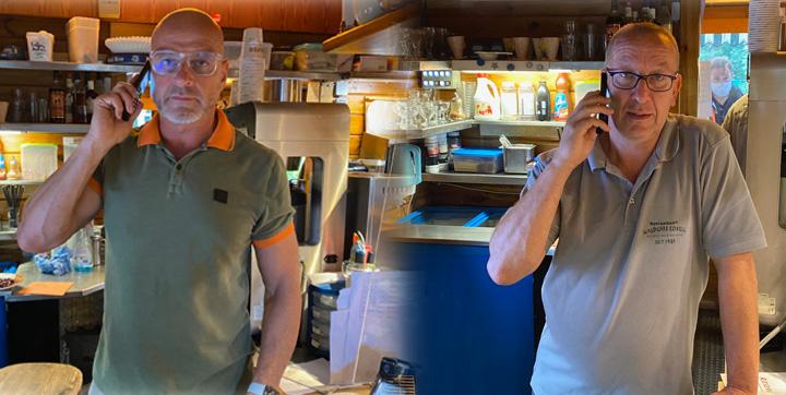 Reservierungen, Restaurant Waldcafe Corell