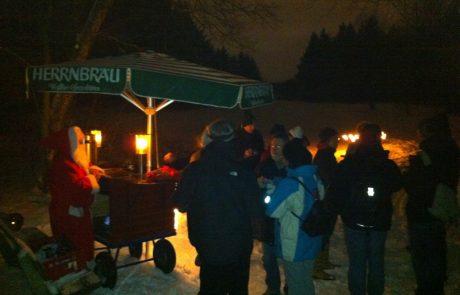 Waldcafe Corell, Fackellauf