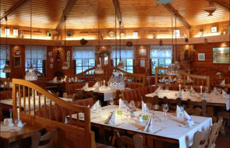 Restaurant Waldcafe Corell, Gastraum