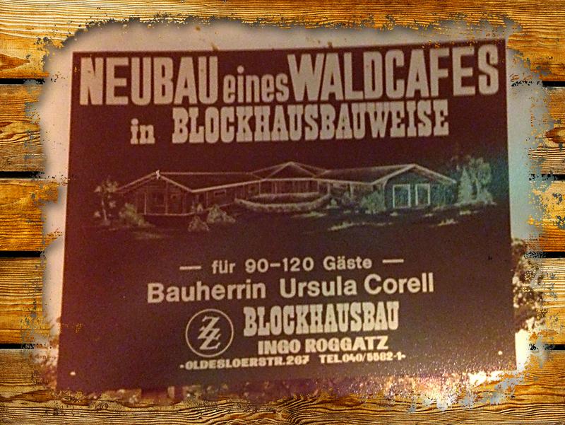 Restaurant Waldcafe Corell, Bauphase