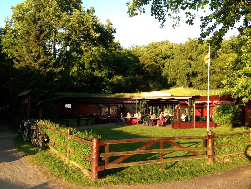 Restaurant Waldcafe Corell, Sonnenterasse