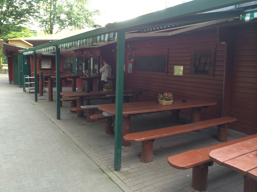 Restaurant Waldcafe Corell, Ausschank
