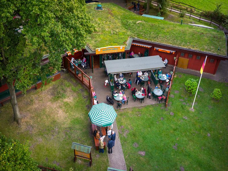 Restaurant Waldcafe Corell Niendorfer Gehege Hamburg