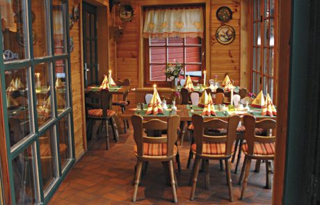 Restaurant Waldcafe Corell, Wintergarten